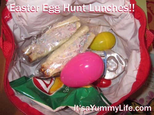 Yes. I dyed the egg salad sandwiches. Hard boil, peel, take the yolk ...