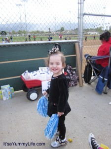 baseball cheerleader Ella