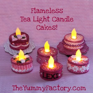 Birthday Party Cakes lit