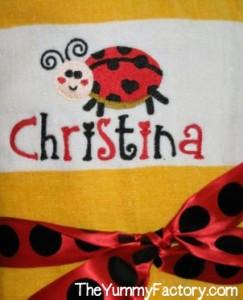 Beach Towel for Christina