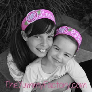 Headbands black and white
