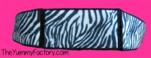 headband 4x4 zebra