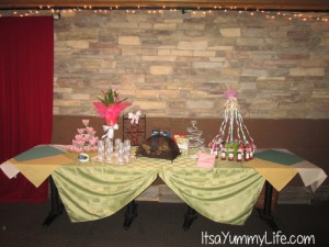 bunco table